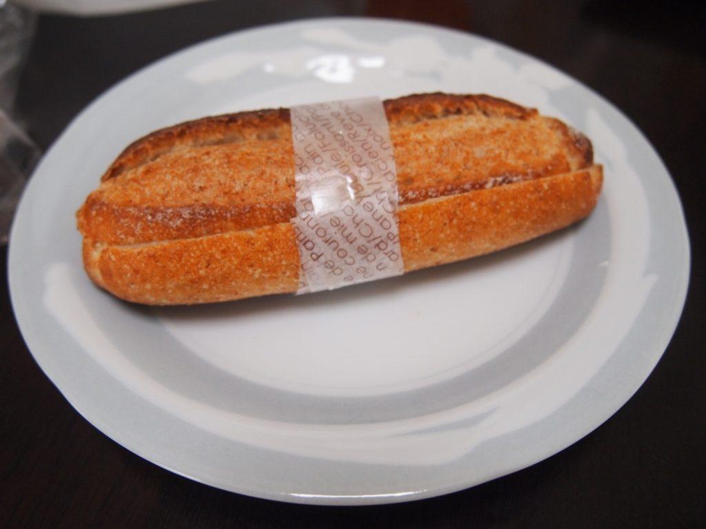 小麦ふすまの練乳サンド