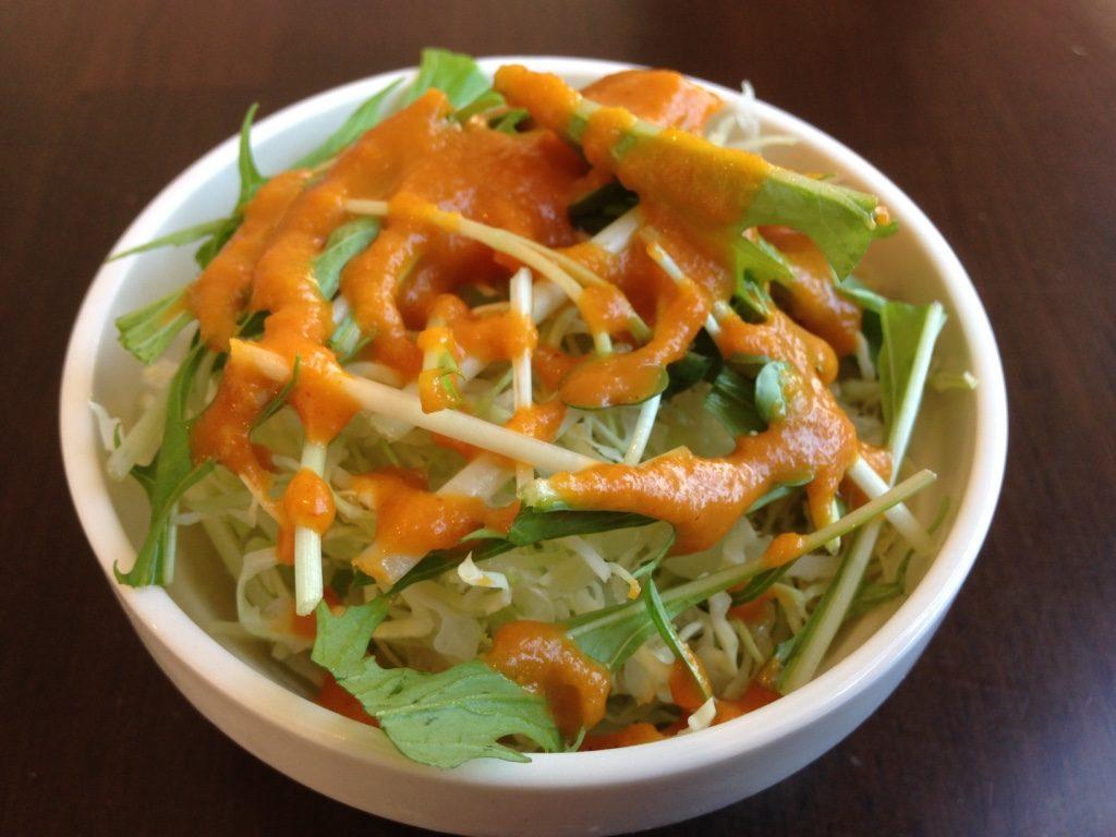 ビスヌのサラダ