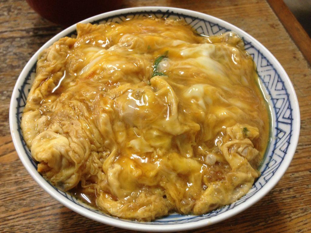 東京庵のカツ丼