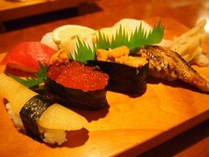 宗右衛門寿司のにぎり寿司