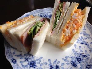 ボロン亭のサンドイッチ