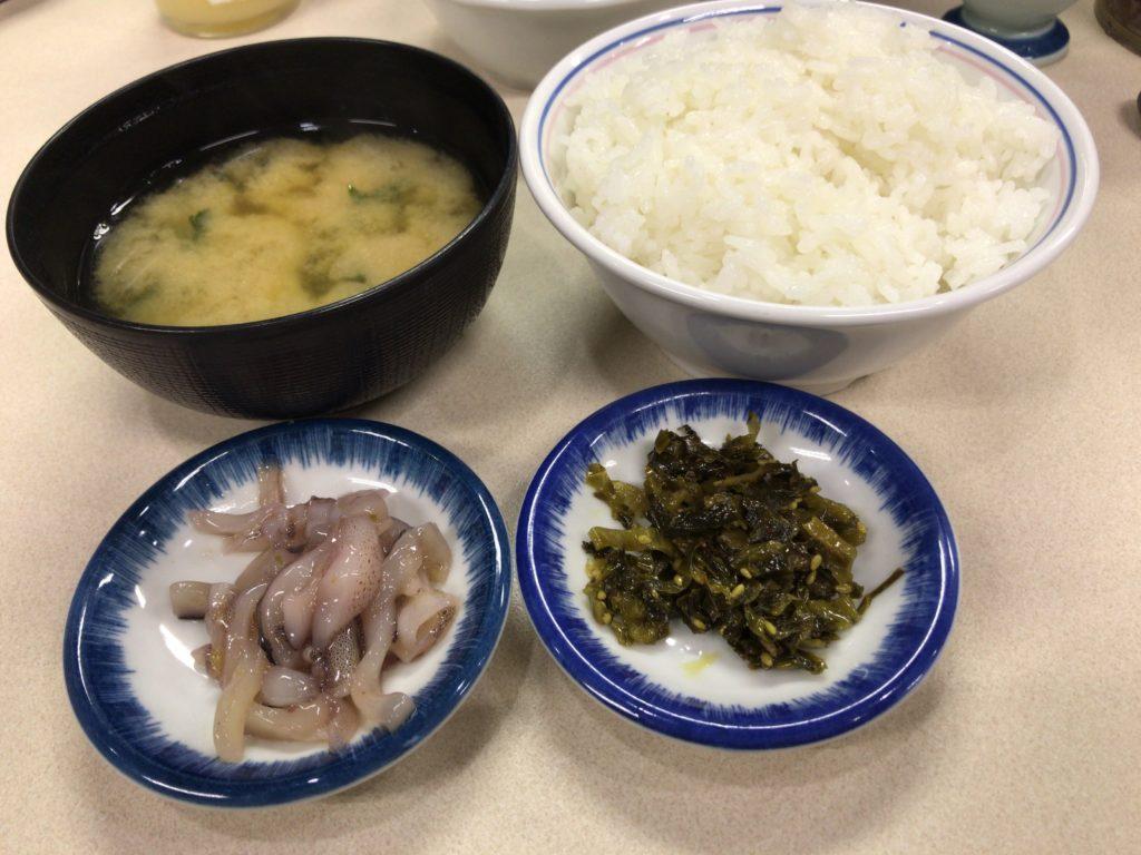 天ぷらまきの定食